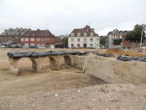 Vue du pont et du bastion XVIe siecle